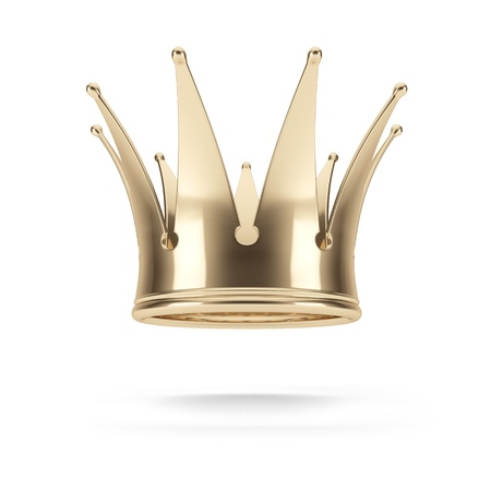 gold crown: Gold crown Stock Photo