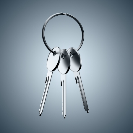 A bunch of keys Stock Photo - 16557494