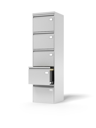 Filing cabinet  Stock Photo - 16557493