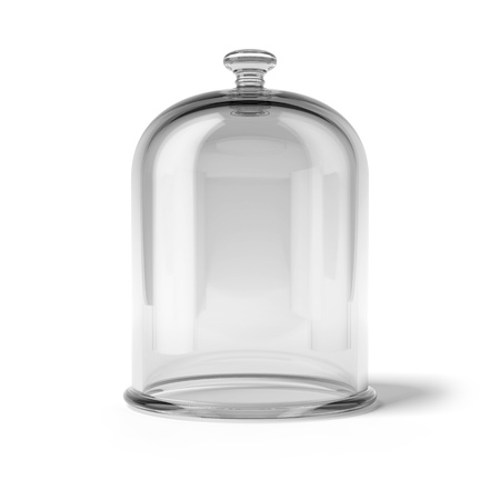 jars: Glass bell