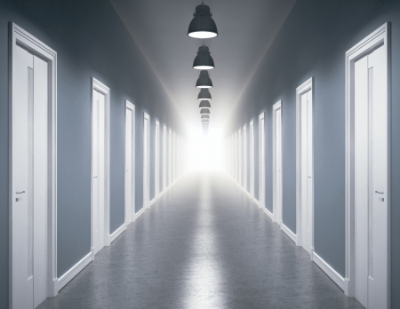 Light at the end of the corridor