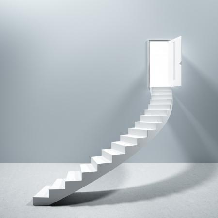 doorway: Ladder Stairs Heaven Door