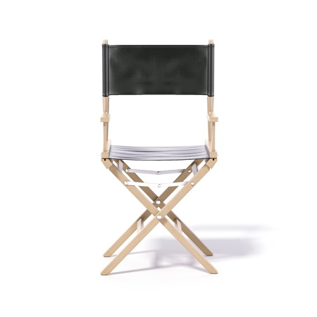 director chair: Director s chair isolated on a white background