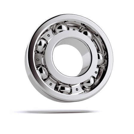 bearing: Bearing tool solated on a white background