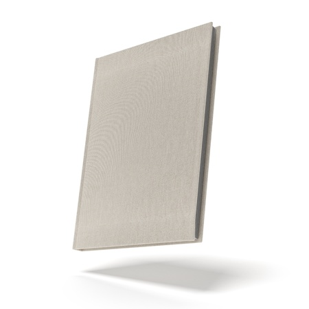Beige Book isolated on a white background photo