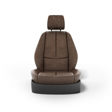 car seat: car seat Stock Photo