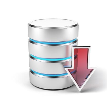 data base: storage Stock Photo