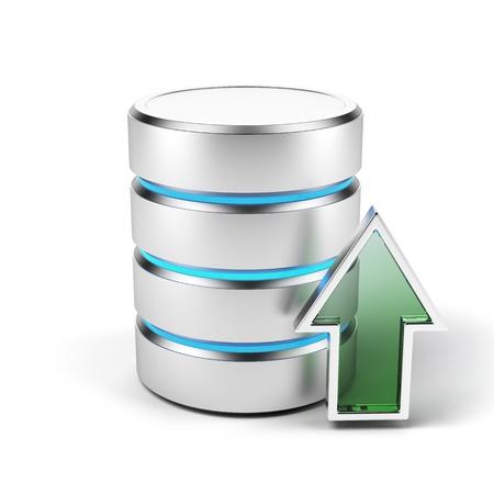 hard disk drive: storage Stock Photo