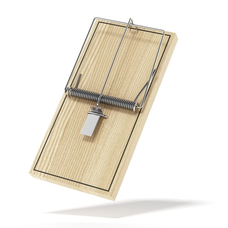 Wooden mouse trap Stock Photo - 17726431
