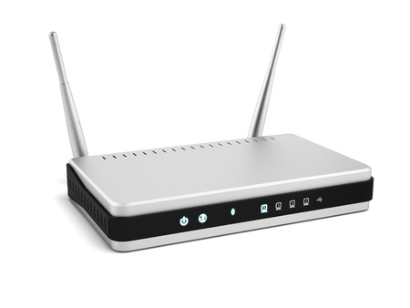 Wireless router photo