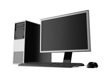 computer case: Desktop computer
