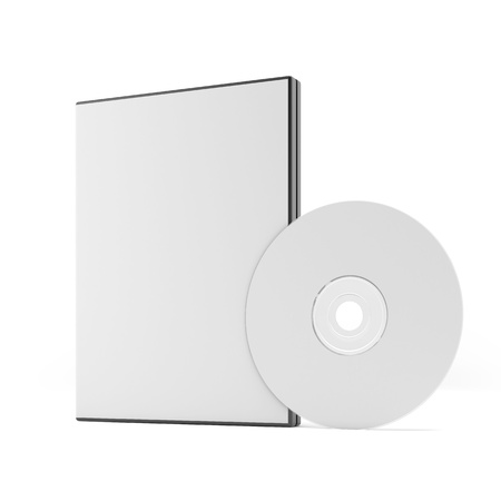 rom: Blank DVD case and disc