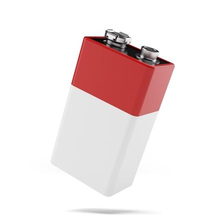9v battery: red 9v battery