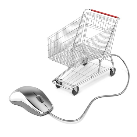 Internet online shopping concept photo