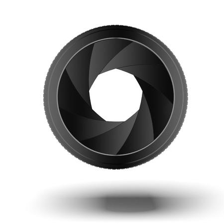 abstract aperture: Camera lens   Diaphragm