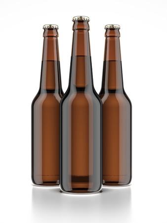 dewed: Three bottle of beer