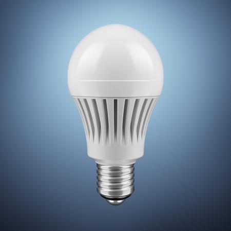 LED energy saving bulb photo