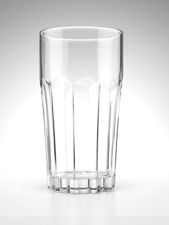 Elegant glass  isolated on a white background Stock Photo - 22401837