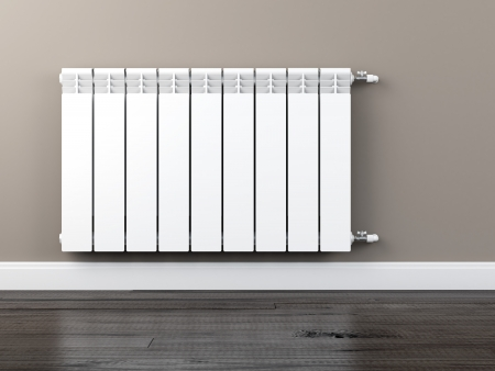 convective: central heating radiator