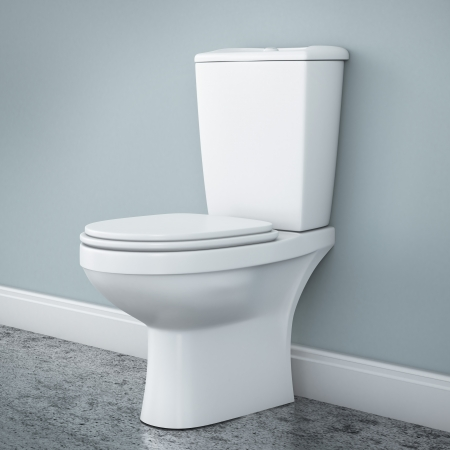 cistern: New toilet bowl