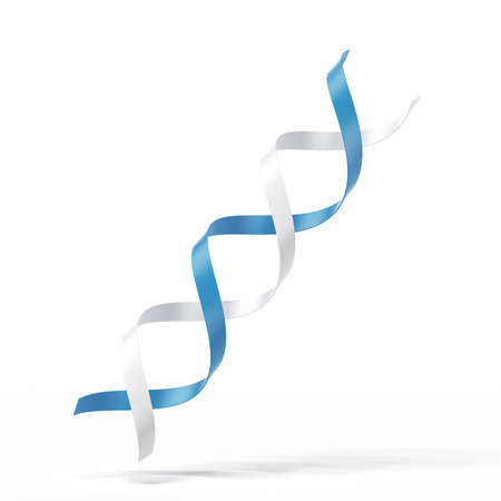 Dna icon isolated on a white background photo