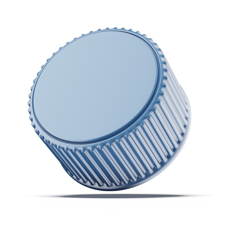 bottle cap: Plastic bottle cap isolated on a white background Stock Photo