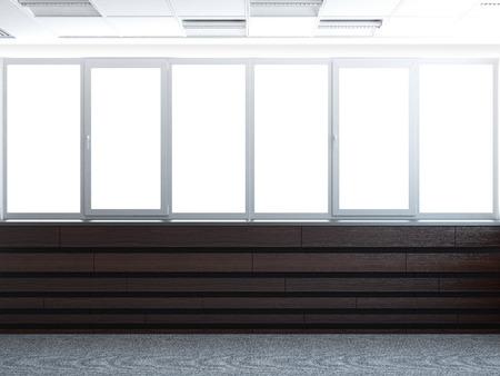 big window 3d render Stock Photo - 22403470