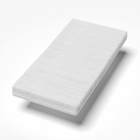 matrass: white mattress   isolated on a white background
