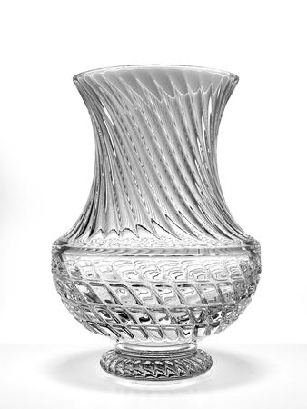 antique vase:  crystal vase isolated on a white background. 3d render