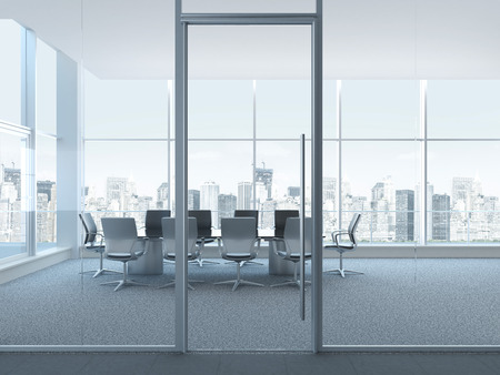 conference room table: Office space interior