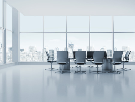business: Meeting room Stock Photo