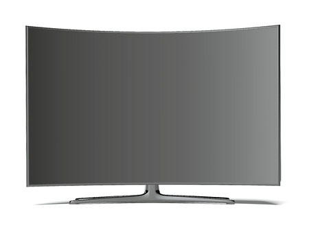 tv screen: Curved tv screen