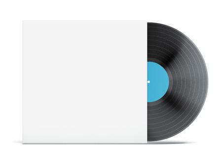 Vinyl Record in Envelope  photo