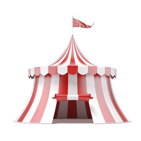 Tienda de circo Foto de archivo - 33430606