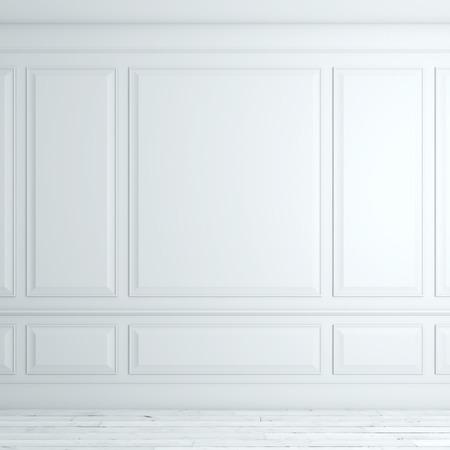 Interni classici bianco Archivio Fotografico - 33430986