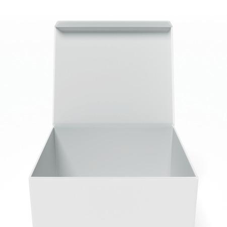 packer: Open box Stock Photo