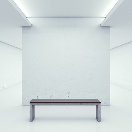 large office: Gallery with white walls