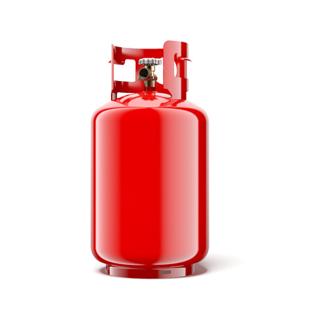 Bombona de gas Foto de archivo