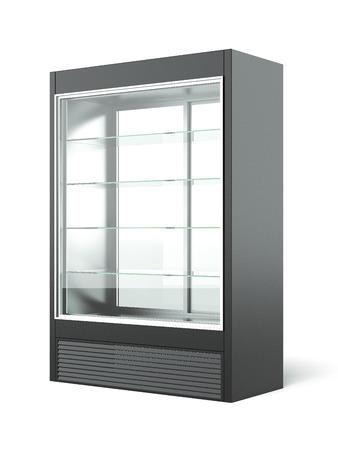 Merchandising réfrigérateur Banque d'images - 34198633