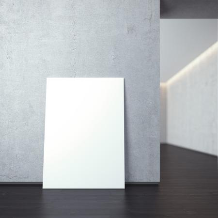 white canvas: White canvas Stock Photo