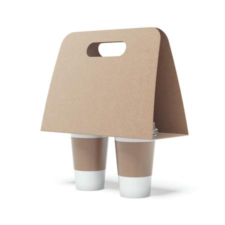 Koffie Holder Stockfoto