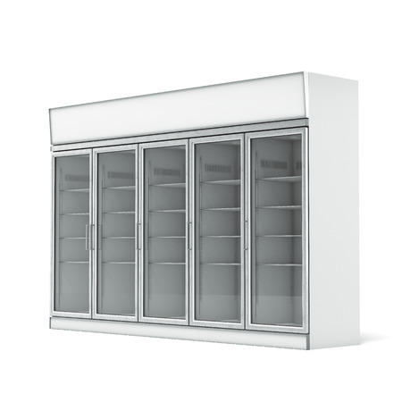vertical fridge: Commercial refrigerator