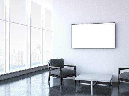 lounge: Modern waiting room at office.
