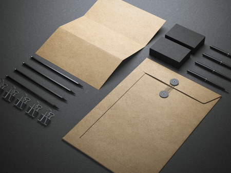 Branding-Elementen Standard-Bild