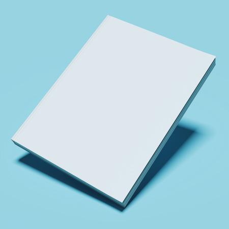 Leere weiße Buch