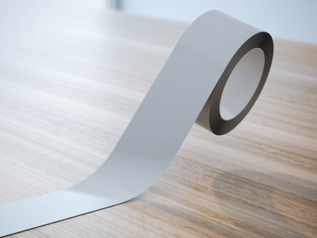 packing supplies: Gray insulating tape roll