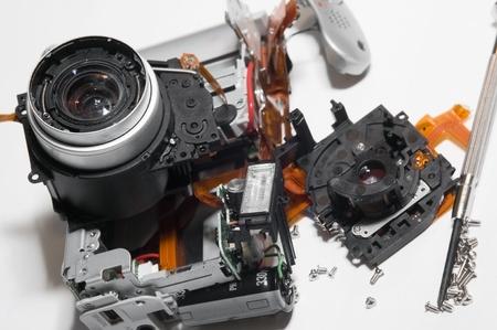 Broken digital camera