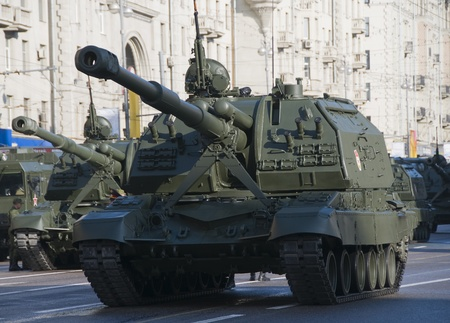 Moscow Victory Day parade rehearsal