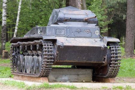 The old fascist tank