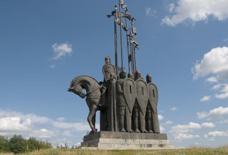 Pskov, a monument to Alexander Nevsky